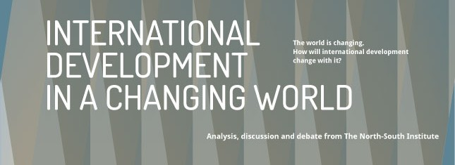 International Development in a Changing World